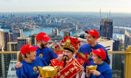 Sydney Tower Eye Luncurkan Sunrise SKYWALKS untuk Rayakan Tahun Baru Imlek