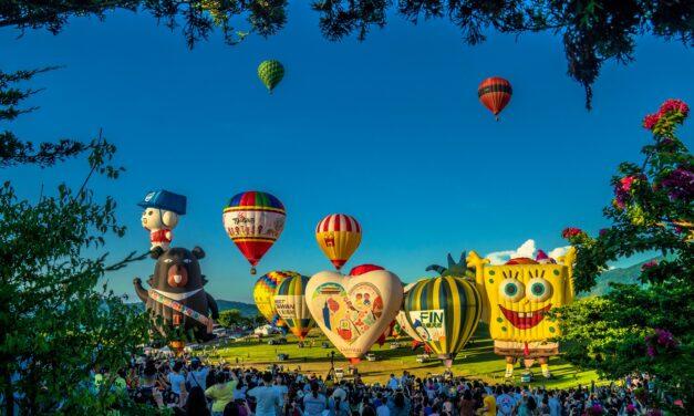 Festival Balon Internasional Taiwan 2020 di Taitung Sukses Dimulai Pada 11 Juli Lalu