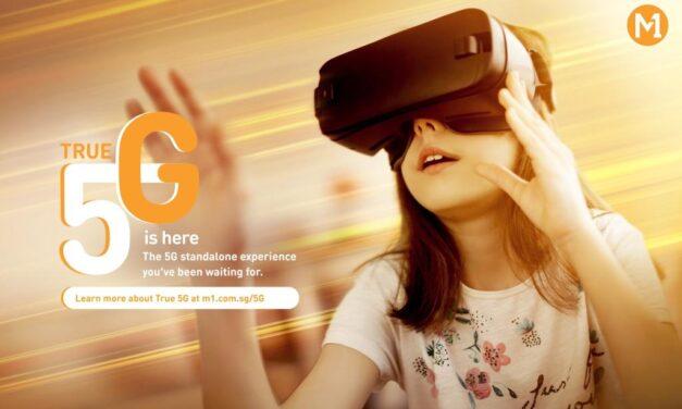 M1 Luncurkan Teknologi SA 5G Tercanggih di Singapura dengan True 5G Network