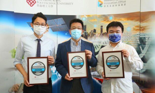 PolyU Memenangkan Tiga Penghargaan Bergengsi di TechConnect 2021
