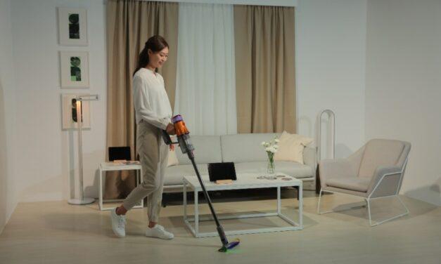 Vacuum Cleaner Dyson V12 Detect Slim™, Dapat Menyedot 99,99% Partikel dan Alergen Sekecil 0,3 Mikron